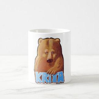 Taza del oso de Krita