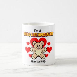 Taza del oso de peluche del especialista de la vid