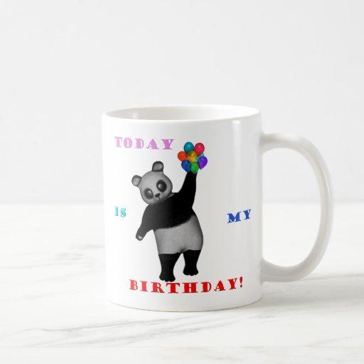 Taza del oso del cumpleaños