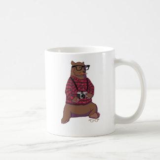 Taza del oso del inconformista (sin texto)