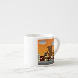 Taza del oso del monstruo taza espresso
