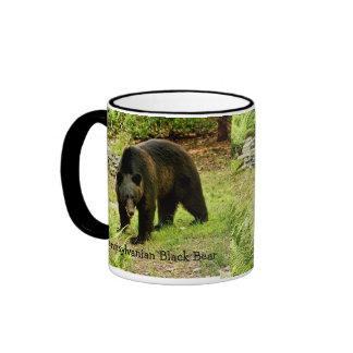 Taza del oso negro del Pennsylvanian