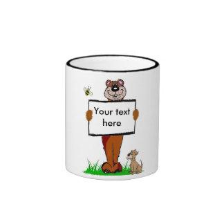 Taza del oso - personalizable