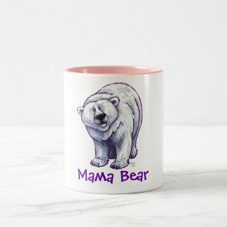 Taza del oso polar de mamá Bear