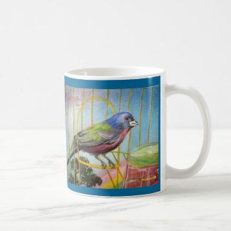 Taza del pájaro del arco iris