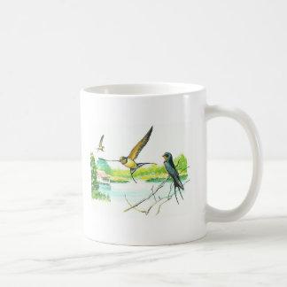 Taza del pájaro - trago de granero