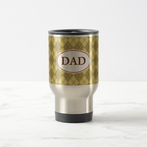 Taza del papá de Argyle