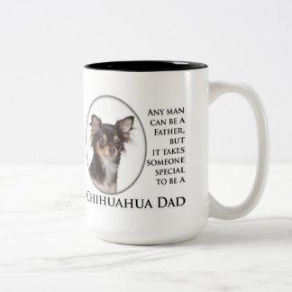 Taza del papá de la chihuahua