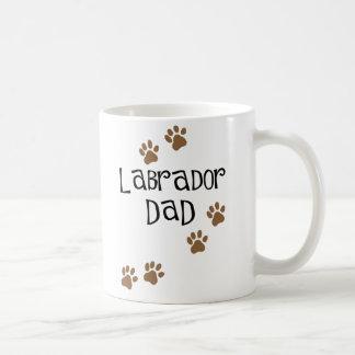 Taza del papá de Labrador