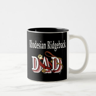Taza del papá de Rhodesian Ridgeback