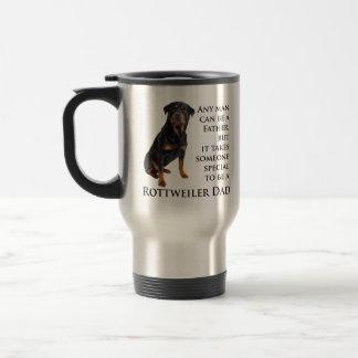 Taza del papá de Rottweiler