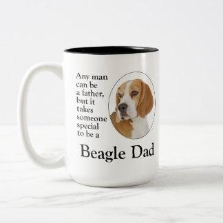 Taza del papá del beagle
