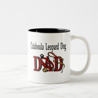 Taza del papá del perro del leopardo de Catahoula