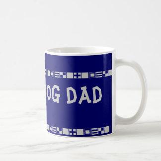 Taza del papá del perro del rescate