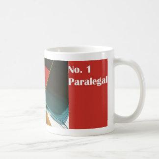 Taza del Paralegal del número uno del Paralegal No