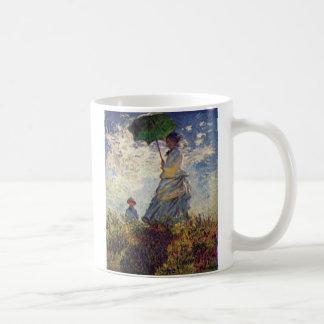 Taza del parasol de Monet