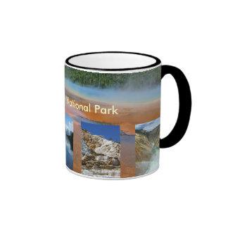 Taza del parque nacional de Yellowstone