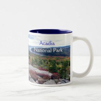 Taza del parque nacional del Acadia