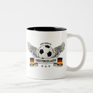 Taza del partidario del equipo nacional del fútbol