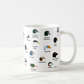 Taza del pato de BIRDFACE (con las etiquetas)