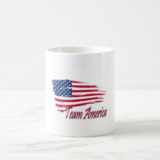 Taza del patriota de América del equipo