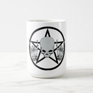 Taza del Pentagram del metal