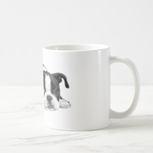 Taza del perrito de Boston Terrier