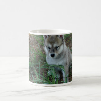 Taza del perrito de lobo
