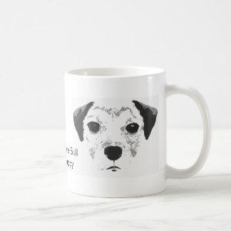 Taza del perrito de Staffordshire bull terrier