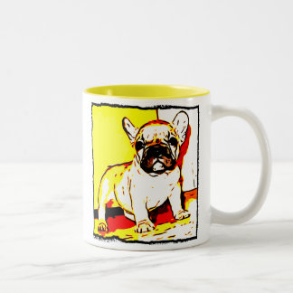 Taza del perrito del dogo francés