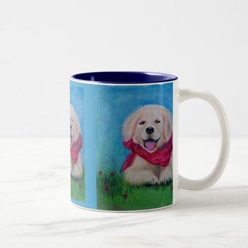 "Taza del ""perrito feliz"""