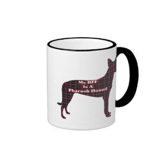 Taza del perro BFF de Pharoah
