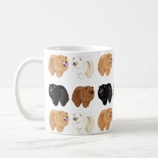taza del perro chino de perro chino
