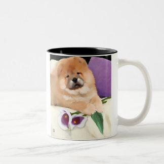 Taza del perro chino del heARTdog de CALLIE