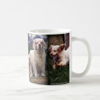 Taza del perro de aguas de Clumber