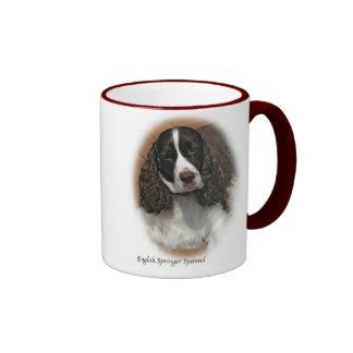 taza del perro de aguas de saltador inglés 15oz