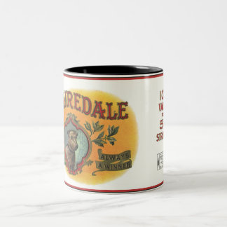 Taza del perro de Airedale