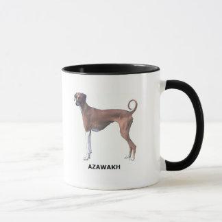 Taza del perro de Azawakh