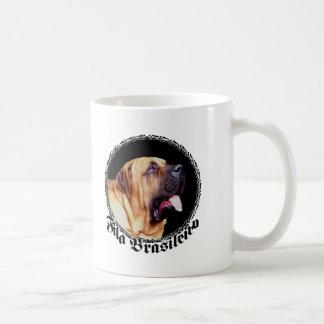 Taza del perro de Fila Brasileiro
