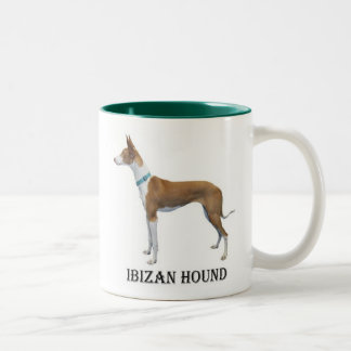 Taza del perro de Ibizan