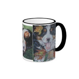 Taza del perro de montaña de Bernese