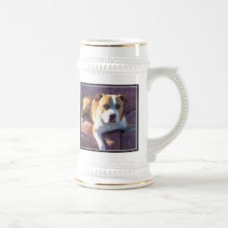 Taza del perro de Pitbull
