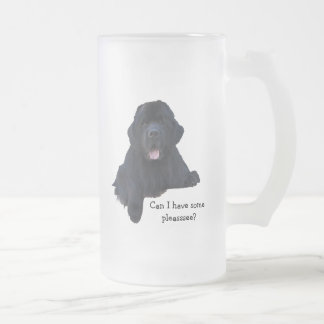 Taza del perro de Terranova