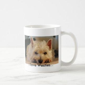 Taza del perro de Westie (montaña del oeste