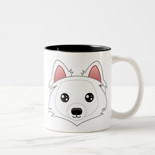 Taza del perro esquimal