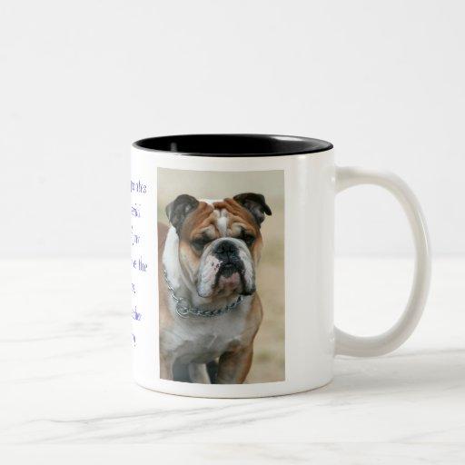 Taza del perro guardián