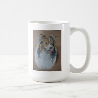 Taza del perro pastor de Shetland