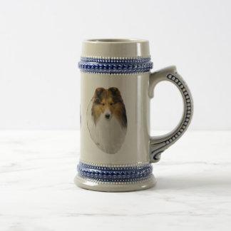 Taza del perro pastor de Shetland Sheltie