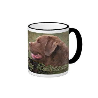 Taza del perro perdiguero de bahía de Chesapeake