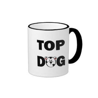 Taza del perro superior